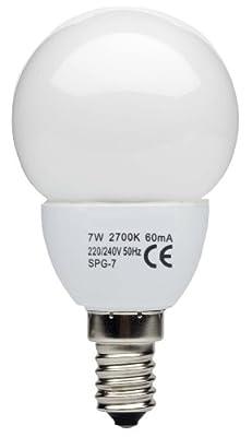 Brilliant ESL Tropfenlampe E14, 7 W, warmweiß 90618A05 von Brilliant AG - Lampenhans.de