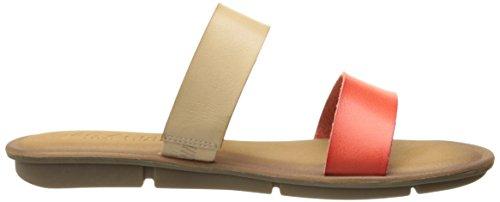 Skechers Cali Indulge 2 Horizons diapositive Sandalo Natural/Coral