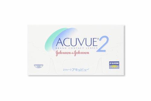Acuvue 2-Wochenlinsen weich, 6 Stück / BC 8.7 mm / DIA 14.0 / -2,50 Dioptrien