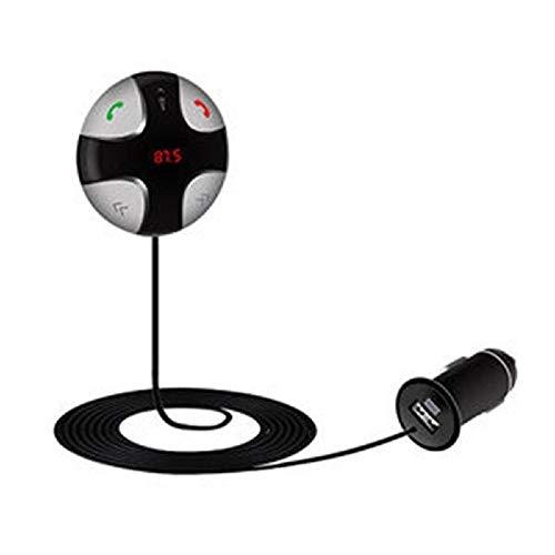 Auto Zubehör Bluetooth FM-Transmitter, USB-Autoladegerät im Kfz-Einbausatz Adapter Freisprechen, der Dongle-LED-Bildschirm und Unterstützung für Bluetooth-Stereo-Musik-Player + Magnetic Mount Mp3-Play