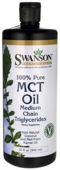 Swanson 100% Pure MCT Oil (Vegetarian, 946ml)