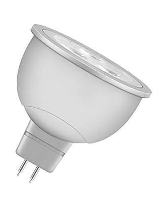 OSRAM LED Reflektor MR16 5, A+, 6W (35W-Ersatz) warmweiß 12V GU5.3