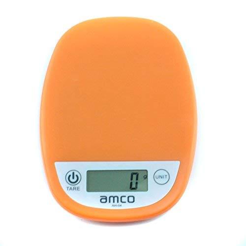Descrizione del prodotto Le bilance da cucina AMCO AH-04 sono semplici da usare, con chiare letture digitali in grammi / chilogrammi o poes / once, un meccanismo di pesatura molto accurato fornisce sempre letture accurate. Il pulsante Zero / Tare ren...