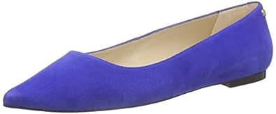 Tommy Hilfiger Women's A1285LANNA 4B Ballet Flats Blue Size: 8