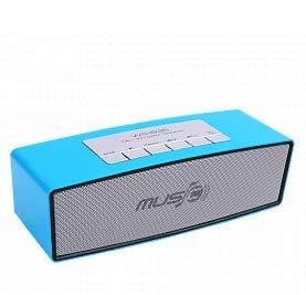 Altavoz Bluetooth Estéreo Portátil inalámbrico Sonido Boombox con micrófono Soporte TF AUX...