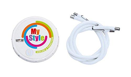 Casco Helmstreifen Mystyle Weiß, One Size