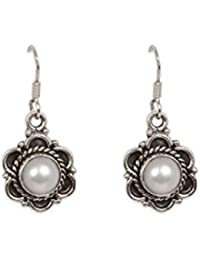 Silverwala 925-92.5Sterling Silver Pearl Fashion Earrings for Women and Girls