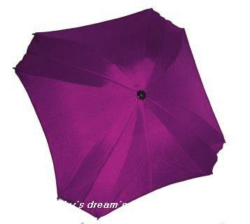 BAMBINIWELT Sonnenschirm für Kinderwagen ECKIG Ø74cm UV-Schutz50+ Schirm Sonnensegel Sonnenschutz...