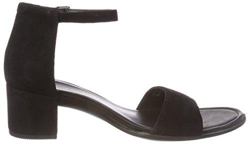 Ecco Shape 35, Sandales Bout Ouvert Femme Noir (Black)