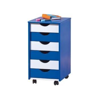 Rollcontainer kinderzimmer  Infantastic® Rollcontainer Schubladenschrank Holzkommode ...