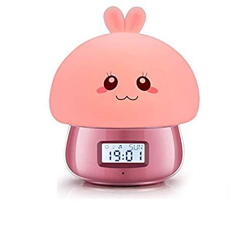 Zhl123 Reloj Despertador para niñas