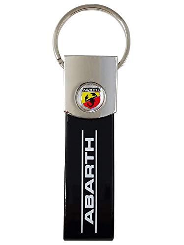 Porte-clé Abarth, Noir