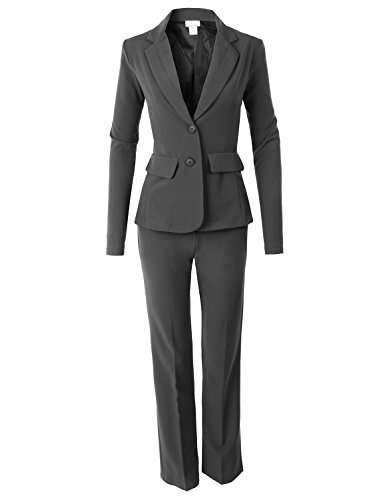 LE3NO Womens Fitted Blazer and Pants Suit Set Test