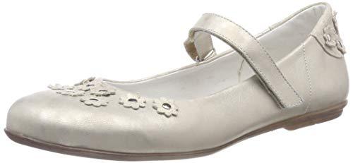 Däumling Mädchen Hailey Geschlossene Ballerinas, Beige (Regency Macchiato 98), 38 EU