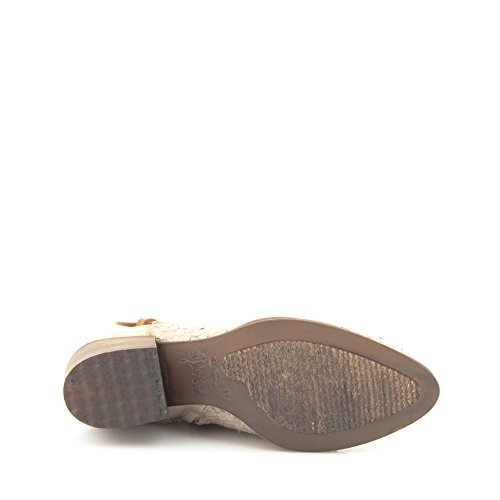 Felmini - Scarpe Donna - Innamorarsi com Hefesto 9383 - Stivaletti con tacco - Pelle Genuina - Beige Beige