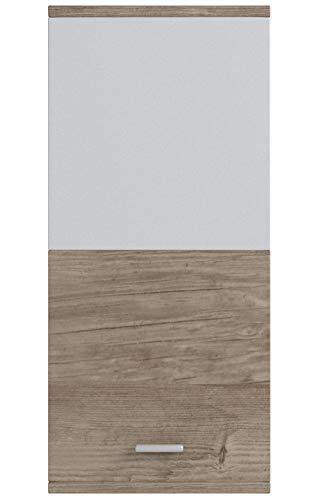 trendteam smart living Mobili Derivato del Legno Quercia San Remo Chiara Decorativa 37 x 82 x 31 cm