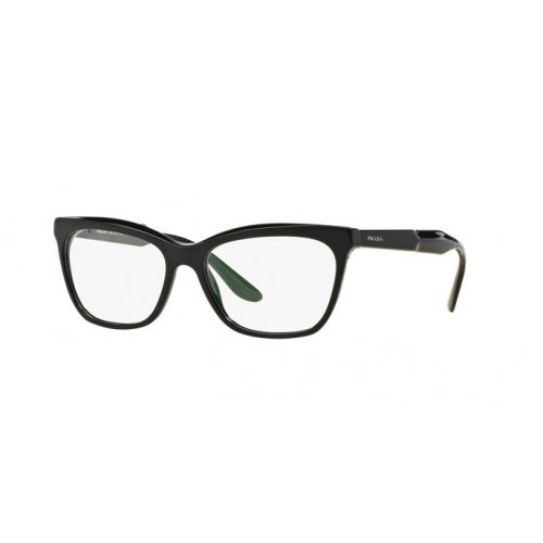 Prada Brillen Für Frau 24S 1AB-1O1, Black Kunststoffgestell, 55mm