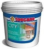 Idropittura murale lavabile a finitura vellutata per esterni ed interni CITY ML.750 BIANCO