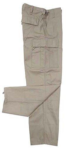 MFH US Army BDU Kampfhose (Khaki/S) - Khaki-uniform Hose