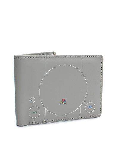 numskull Playstation 1 Geldbörse - im PS1 Konsolen Design - grau (Portemonnaie) (Psn Gift Card Ps4)