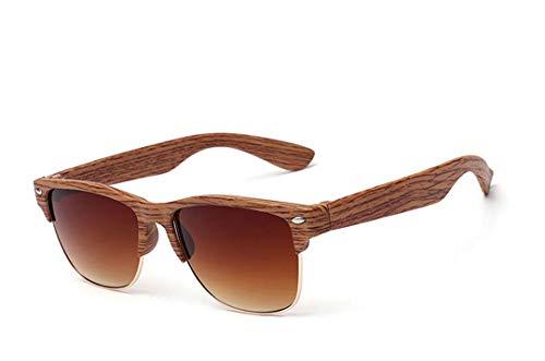 DAIYSNAFDN Mode Vintage Sonnenbrille männer Frauen Sport Brillen holzmaserung Sonnenbrille Brille 8