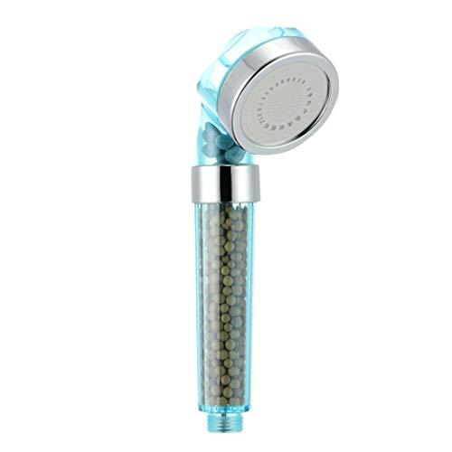 CUHAWUDBA Neueste Wasser Therapie Spa Dusch Kopf Halter Und Schlauch Wassersparende Abnehmbare Anionen Filter Wasser Enth?rter Dusch Kopf Set