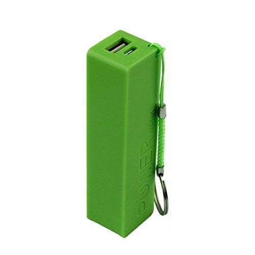 Hahuha  Portable Power Bank 18650 Externes Backup-Ladegerät mit Schlüsselanhänger (Mit Schlüsselanhänger Portable Bank Power)