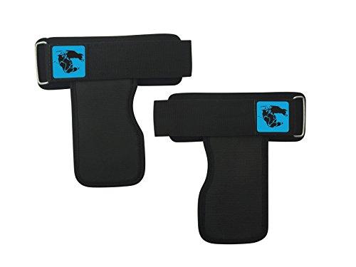 Unterstützung Pad (GymAdvisor Gewichtheben Power Grip Pads Grip Bar Träger Unterstützung Powerlifting)