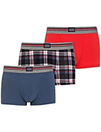 Jockey Cotton Stretch 3-pack boxer para los hombres