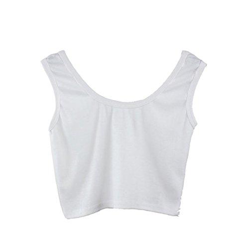 Malloom Les Femmes Brassière Serré Maigre O-Cou Danse T-Shirts De Sport Veste Courte