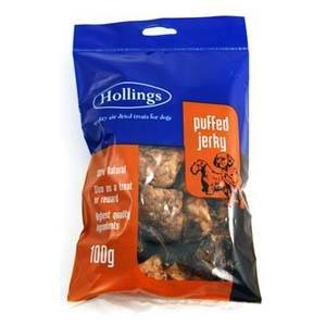 Hollings LTD Hollings aufgeblasen Jerky Display 100g -