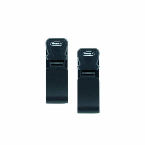 Therm-ic Attacco velcro per dispositivo scalda scarponi a batteria, Nero (nero), taglia unica