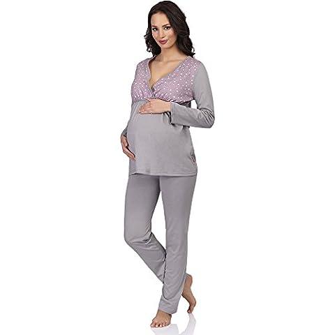 Be Mammy Para Mujer para Lactante Pijama Susan