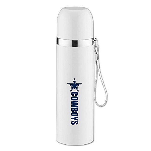 caryonom Dallas Star Jungen isoliert Wasser Flasche Travel Mug Vakuum Cup für Office Home Outdoor Erwachsene Kinder (Dallas Auto-zubehör)