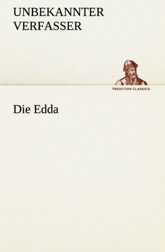 Die Edda (TREDITION CLASSICS)