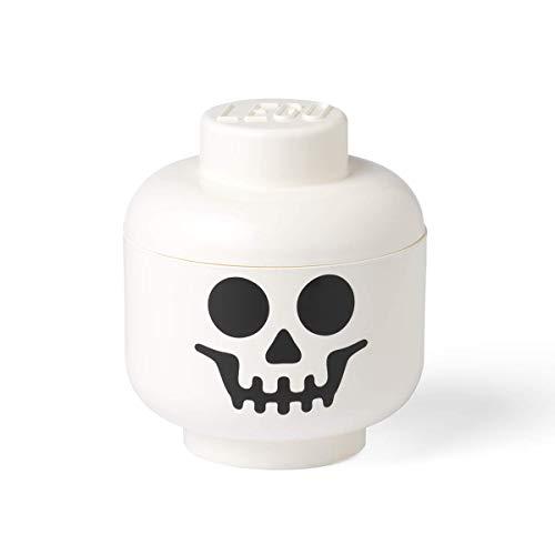LEGO 40321728 Skelettkopf - Große Aufbewahrungsbox, weiß