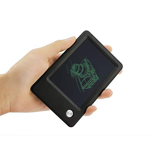 WKLNM 4,5-Zoll-LCD-Schreibtafel Digital Drawing Tablet Mini tragbare elektronische Handschrift Pad Memo Note Board zum Zeichnen (Pad Digital Memo)