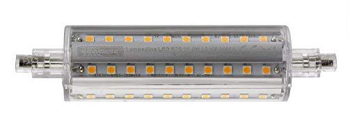 ECOBELLE® 1 x 16.5W R7s LED Leuchtmittel Lampe *SUPERNOVA*, 2100 Lumen (Hohe Lumen Lampe!!!), warm-weiß 3000K, 118 mm, 360°
