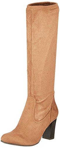Caprice Damen 25503 Stiefel, Braun (Cognac Stretch), 41 EU (Stiefel Damen Stretch)