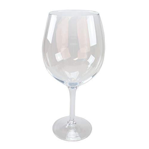 Glas Pokal/Bowleglas Catier Höhe 50cm Ø 17cm. Weinglas in XXL zur Dekoration in Klarglas von...