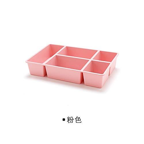 donfonhyx989u7 9 Desktop-kosmetische Aufbewahrungsbox Bins kosmetische Kunststoff-Aufbewahrungsbox Mehrfach Schublade Schlichten Debris kosmetischen Box Skin Care - Box-bett-skins