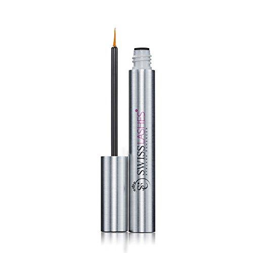 Swiss Clinic Eyelash Enhancer Serum, Wimpernwachstum, Erziele lange, dicke, natürliche Wimpern, 6 ml