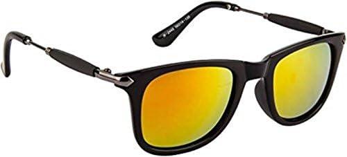 Xforia night vision fashion wayfarer sunglasses for men & women (DX-FLX- 8 | gold | 54 MM)