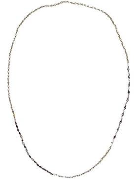 Kristall auf Schnur Single Strand Knoten Lange Kette Halskette