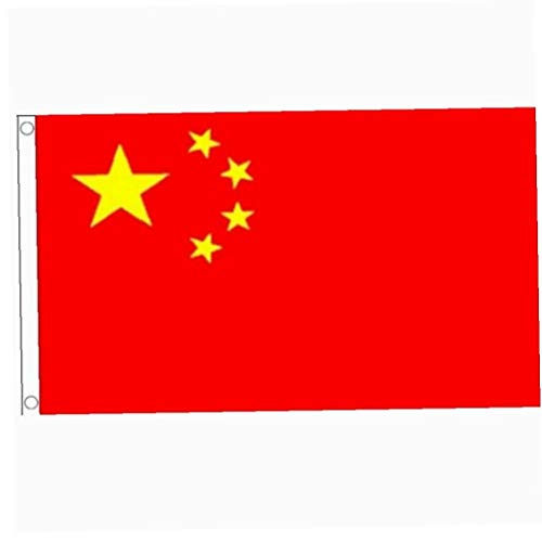 Romote Chinesische Flagge Polyester-Flagge Banner für Festival Home Decoration China Staatsflagge 5ft x 3ft
