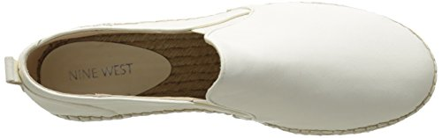 Nine West Noney cuir Slip-ons White/Multi