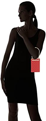 Love Moschino - Borsa Quilted Nappa Pu Rosso, Bolsos baguette Mujer, Rojo (Red), 5x15x10 cm (B x H T) de Love Moschino