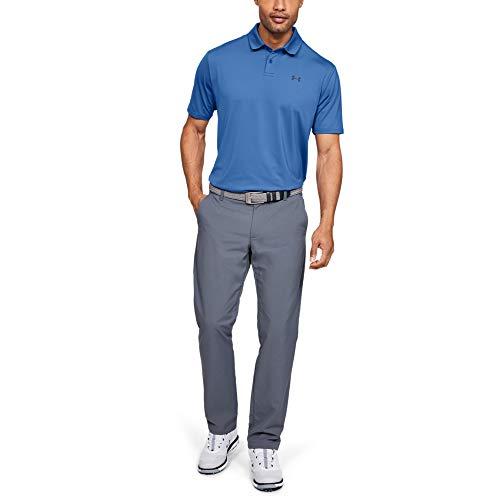 Under Armour Herren Performance 2.0 Poloshirt, Blau, LG - Lg Golf Shirt