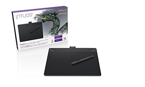 ワコム ペンタブレット Intuos 3D ペン&タッチ 3Dモデリング用 Mサイズ ブラック CTH-690/K2