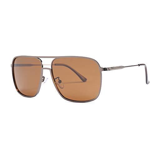 hanxniwm Schmuck Neue AC Schmuck Schmuck polarisierte Gläser dekorative Schmuck Explosion Modelle Metall Männer Reiten Sonnenbrillen -